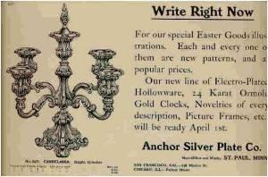 Anchor SP Co Ad 1905
